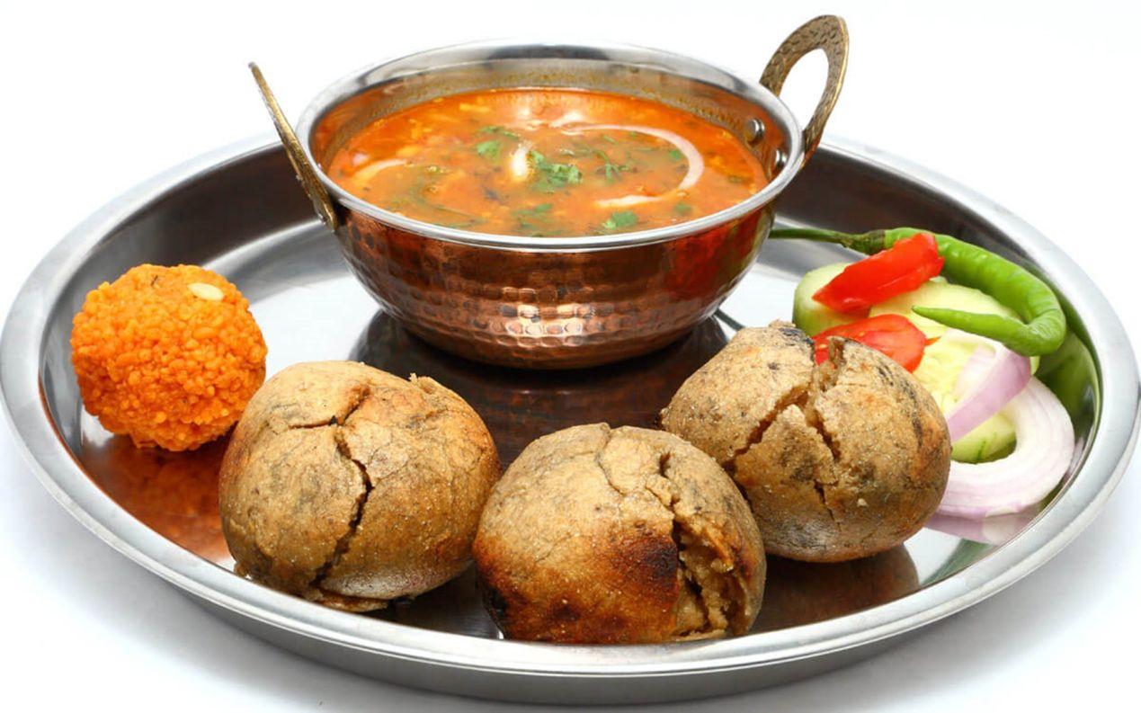 daal-baati-churma, Rajasthani cuisines