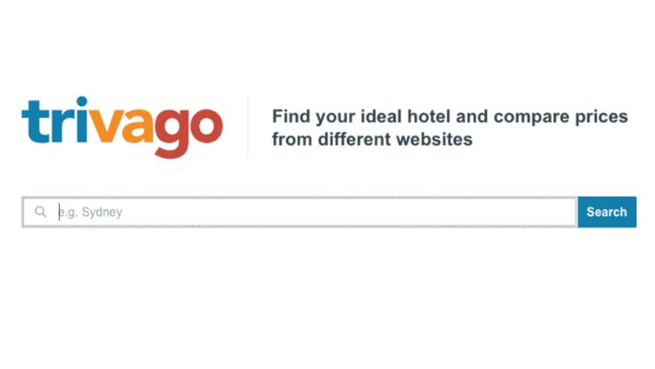 Trivago mobile app,mobile applicatio,travel app