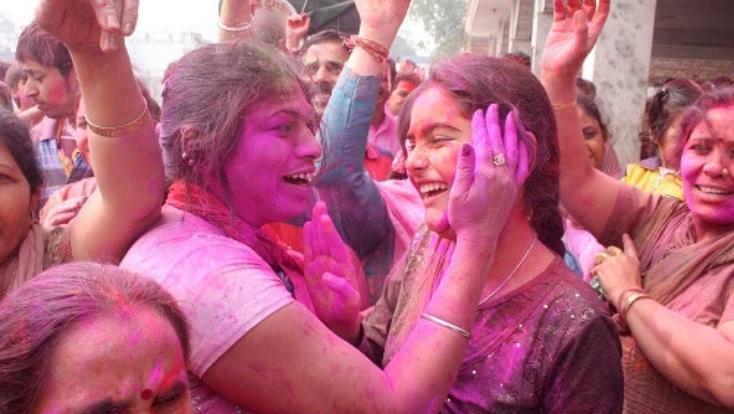 holi celebration in bihar,phagun,holi bihar,phaghunwa