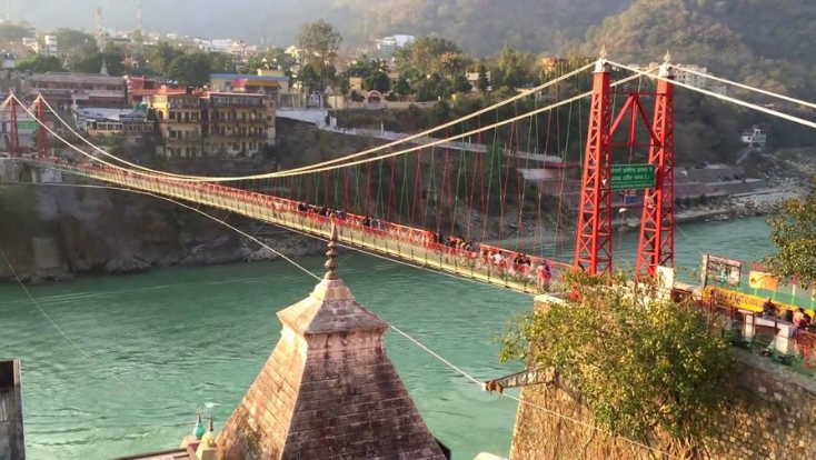 Lakshman Jhula,rishikesh,haridwar attractions,lakshman jhula haridwar,india tour,india attarctions,tailor made holidays